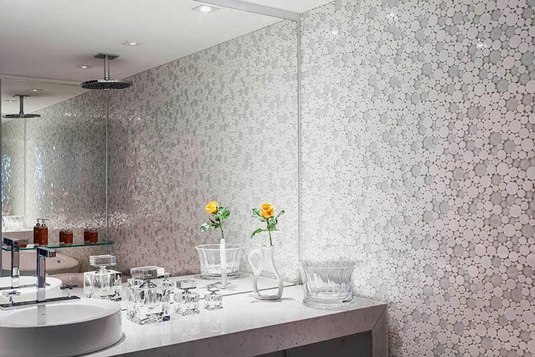 40 Bancadas de banheiroslavabos – veja modelos modernos e maravilhosos!  De -> Banheiros Modernos Marmore