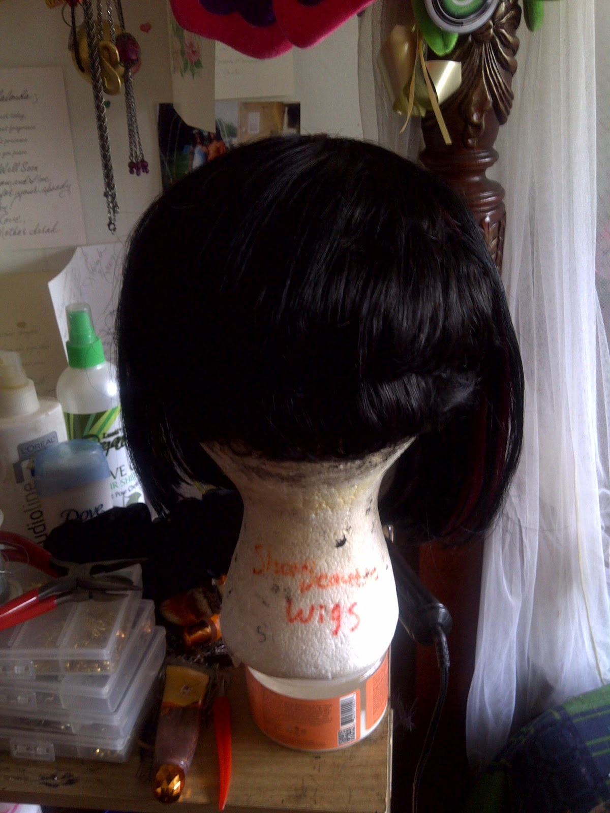 Bob Hairstyle with 27 Piece Quick Weave