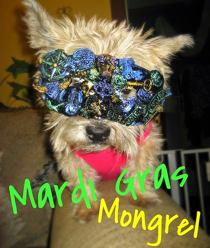 Mardi Gras Mask: Tanya Ruffin for Geaux Create It.com