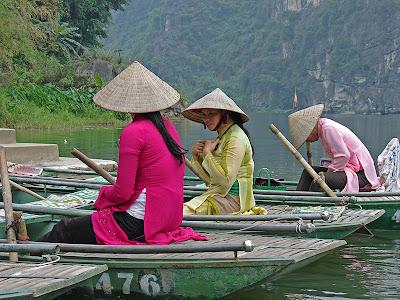 Vietnamiennes à Trang An