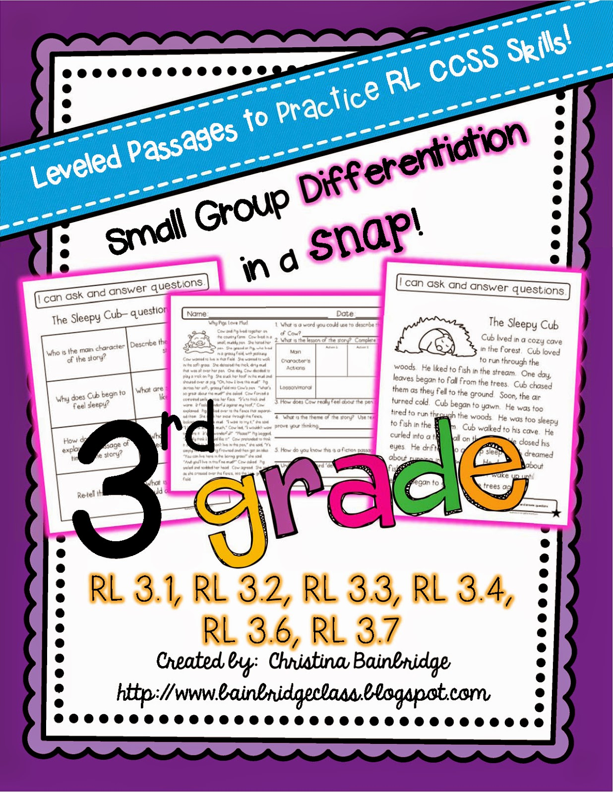 Worksheet Levelled Reading Passages bunting books and bright ideas leveled ccss reading passages this pack includes 6 different actually 12 because each passage appears at two levels