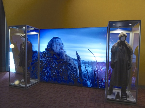 Revenant movie costumes ArcLight Sherman Oaks