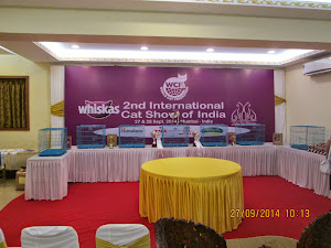 """Whiskas 2nd International cat show of India"""