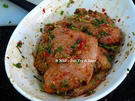 just try amp taste chicken fajitas masakan ayam a la tex mex
