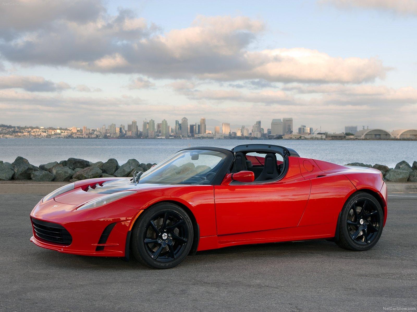 Hình ảnh xe điện Tesla Roadster 2.5 2011 & nội ngoại thất