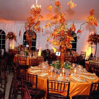 Camouflage Wedding Centerpieces