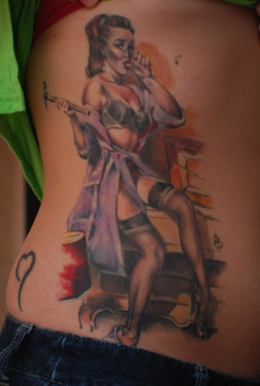 World Tattoo Tattoos: cool tattoos for girls on side