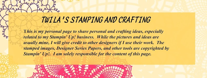 Twila&#39;s Stamping and Crafting