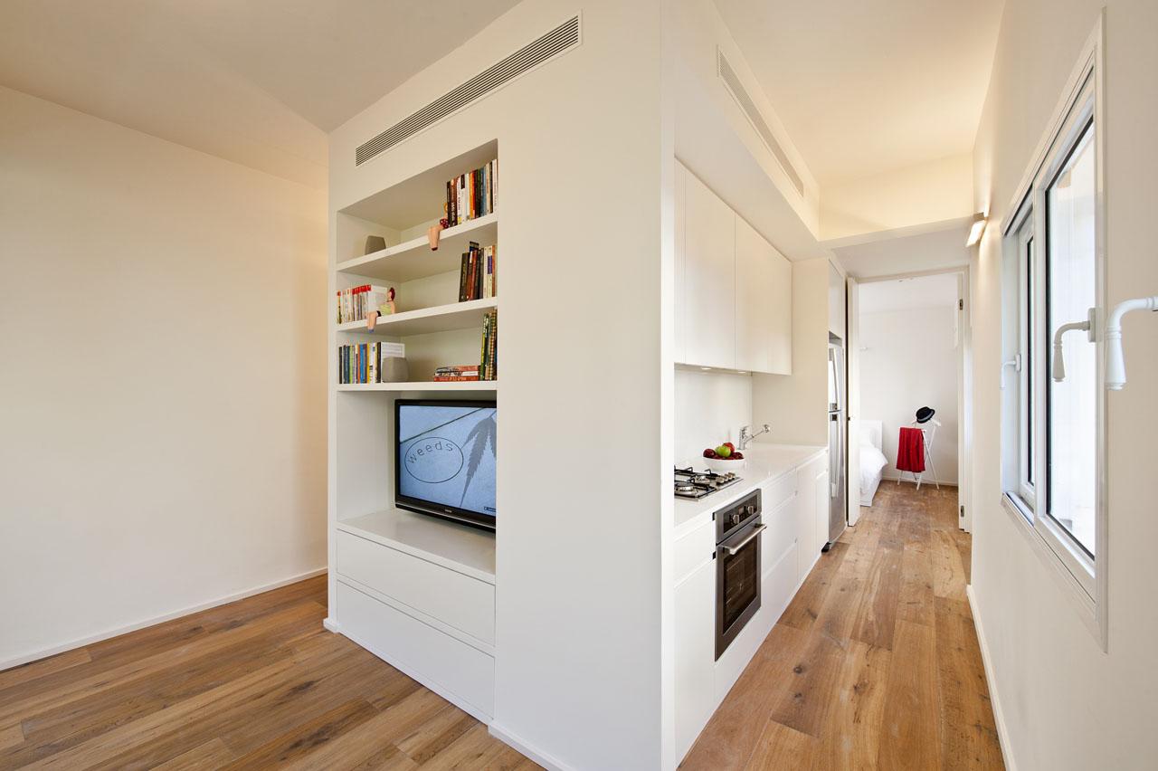 Small Apartment In Tel Aviv With Functional Design   Home Design Trends    Interior Design Ideas, Architecture News