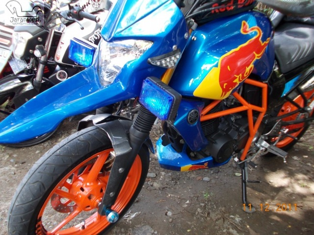 referensi modifikasi byson red bull