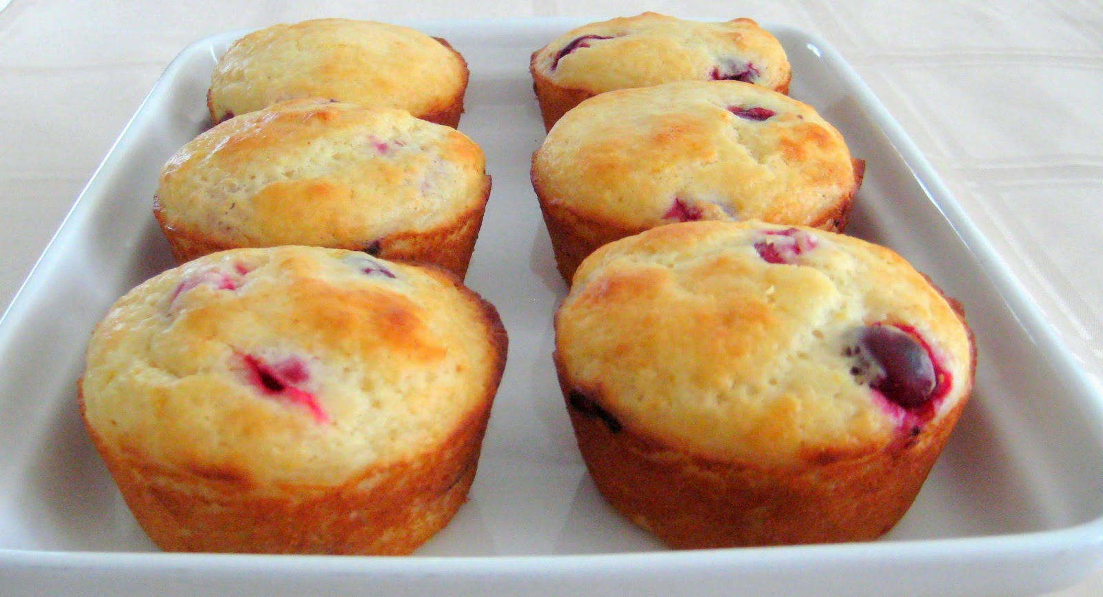 Equal Opportunity Kitchen: Lemon Cranberry Muffins