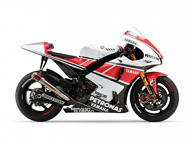 Yamaha YZR-M1 WGP 50th Anniversary Edition