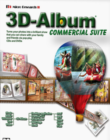 3D Album Commercial Suite