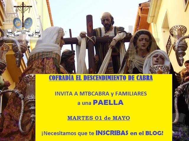 INVITACIÓN A PAELLA