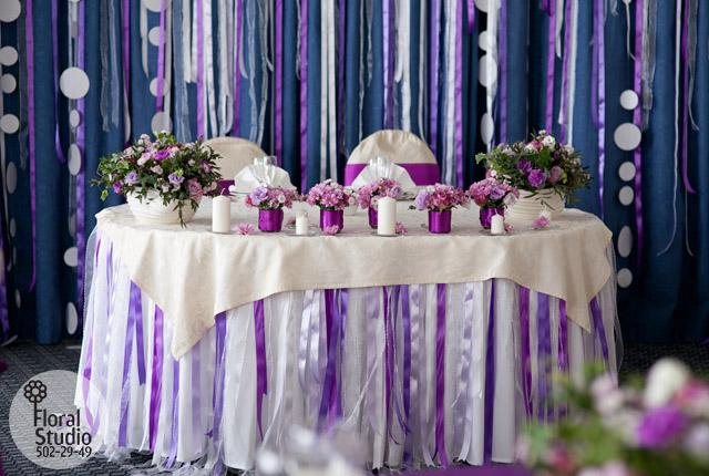 Как оформить задник на свадьбу своими руками