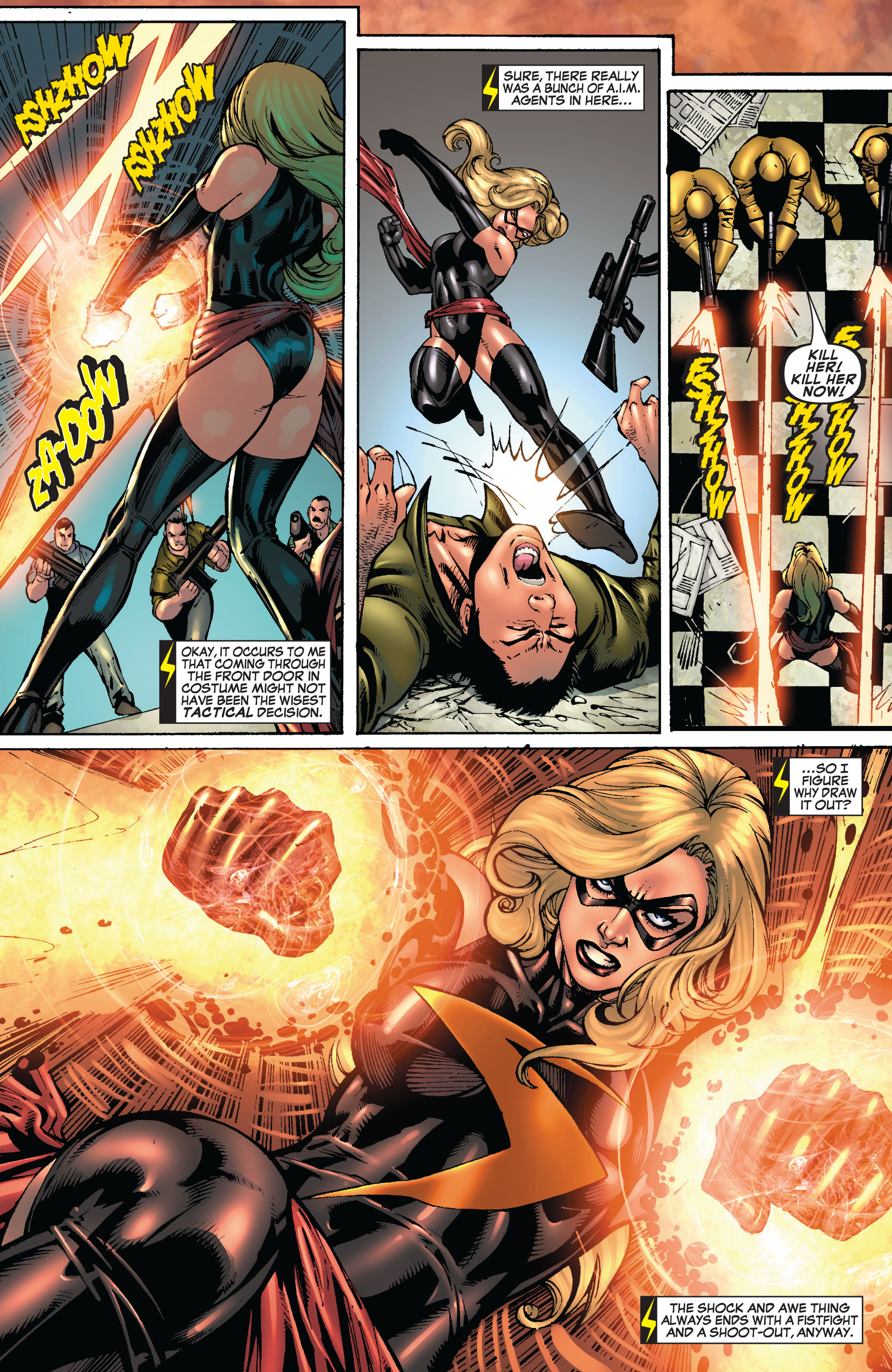Read online Secret Invasion: The Infiltration comic -  Issue #8 - 9