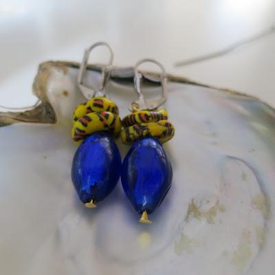 imagen solamante animal print earring
