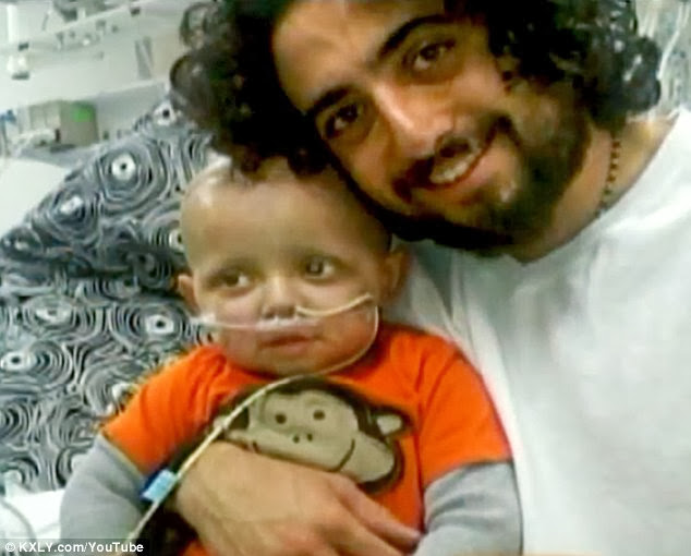 Two Year Old Boy With Brain Cancer is 'Cured' After Secretly Being Fed Medical Marijuana By His Father