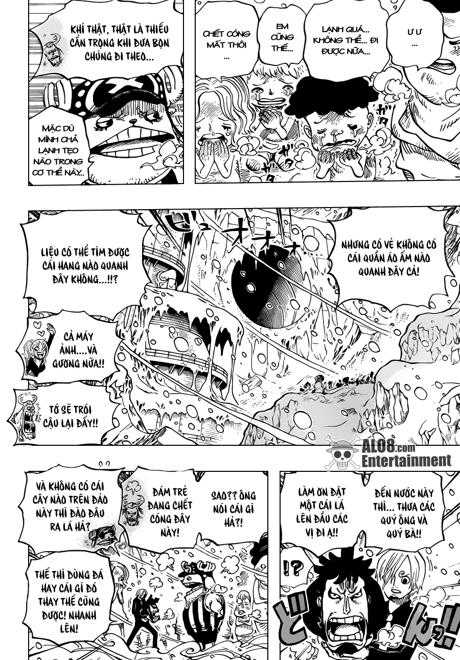 """One Piece Chapter 663: """"CC"""" 010"""