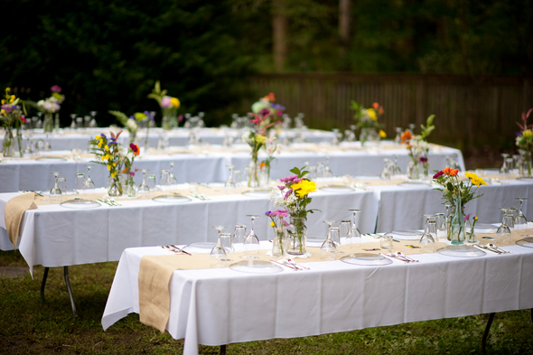 Outdoor wedding reception decoration 2016 evening wedding for Outdoor wedding reception decorations ideas