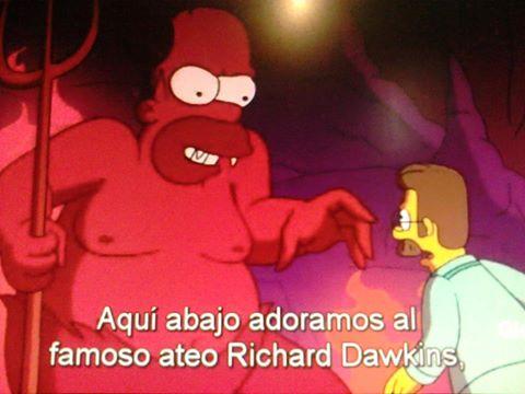 Frases Antirreligiosas en los Simpsons (Humor Gráfico)