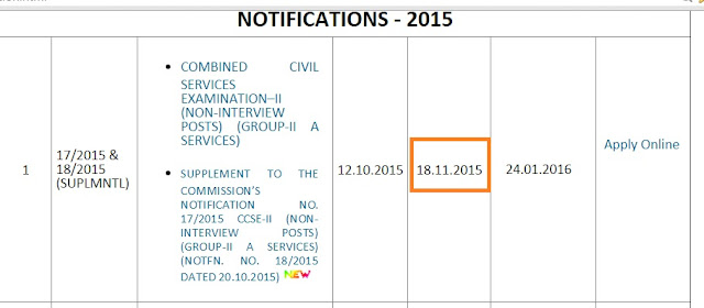 tnpsc group 2a non interview 2015 exam last date changed