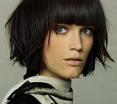blunt layered bob hairstyles