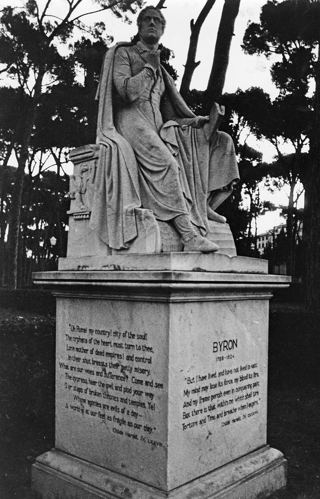 essay on lord byron Fagstoff: lord byron, or by his full name, george gordon byron, was indeed a  colourful figure in the cultural society  writing a literary essay.