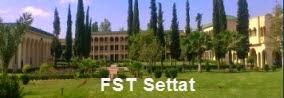 Masters Sciences et Techniques 2014/2015 à la FST de Settat.