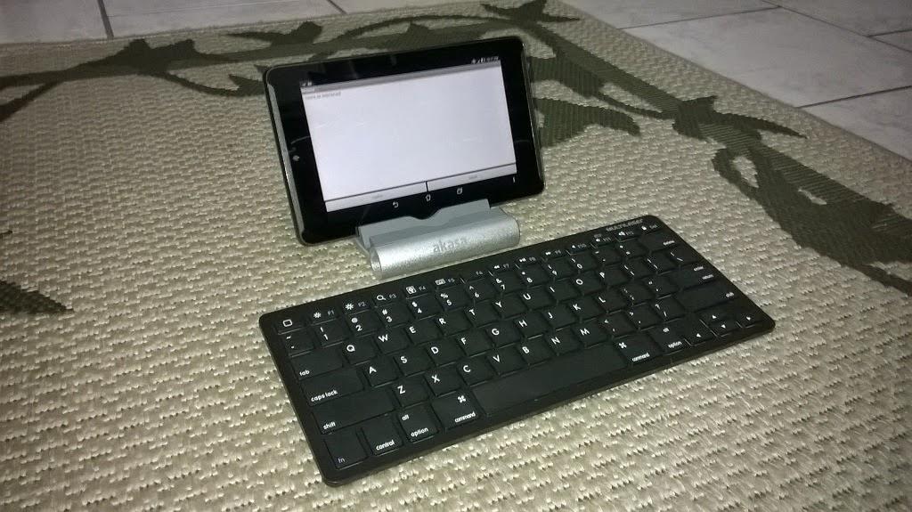 teclado multilaser sem fio para tablet utilizando