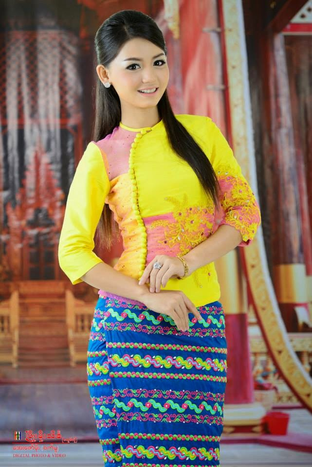 Miss Supranational Myanmar Khin Wint Wah in Stunning Myanmar Dress
