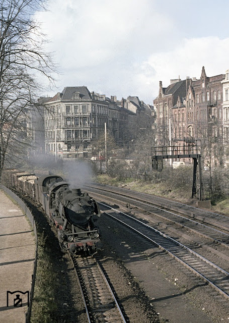 Photos Of Railways In Hamburg 1959 Vintage Everyday