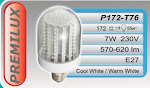 PREMILUX 7W - 172LED