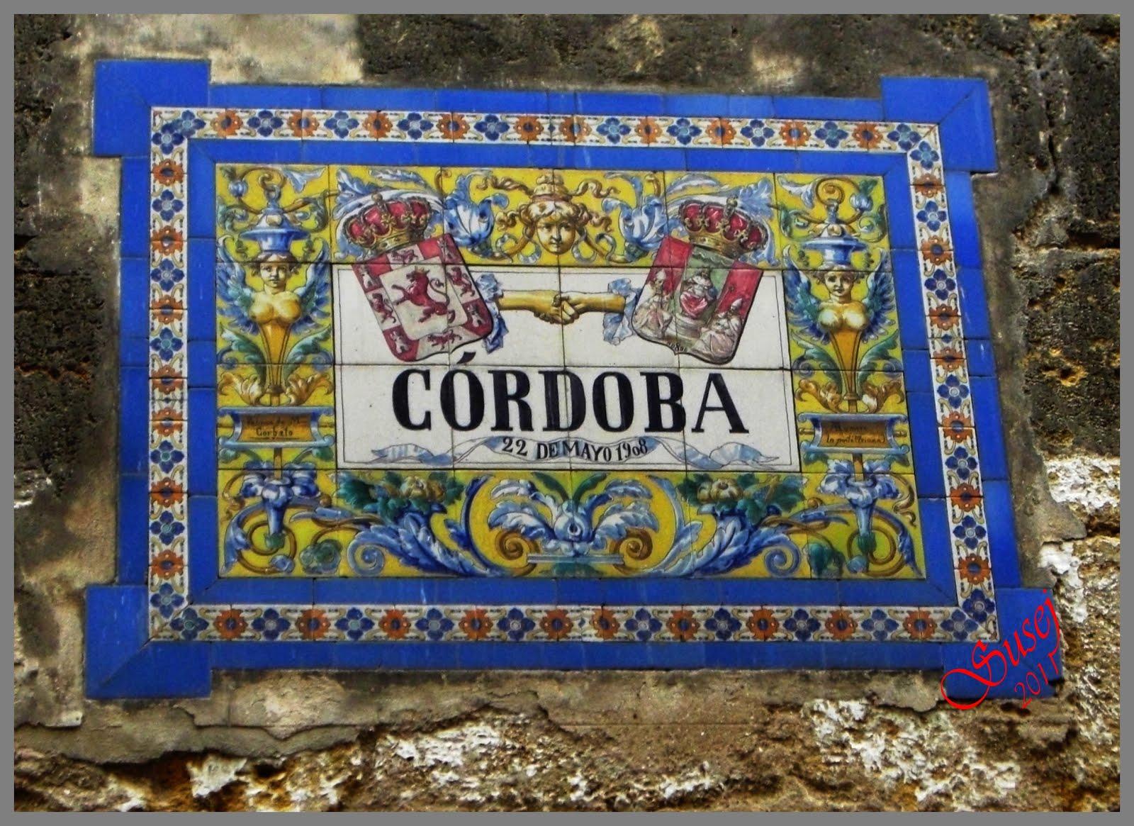 La lata de membrillo azulejos en la calle for Azulejos cordoba