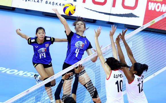 Thailand 2 ปู๊น! ปู๊น!_FIVB Volleyball Women's U23 World Championship 2015