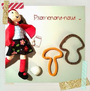 Champignon tricotin laine