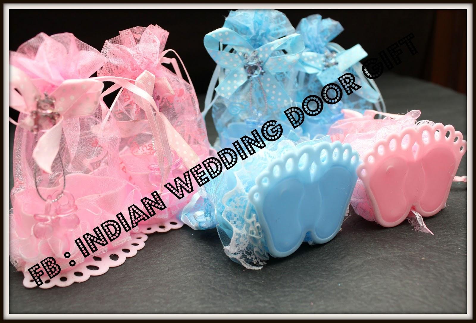 Indian Wedding Door Gift: Baby Shower Door Gift, Aqiqah, Cukur ...
