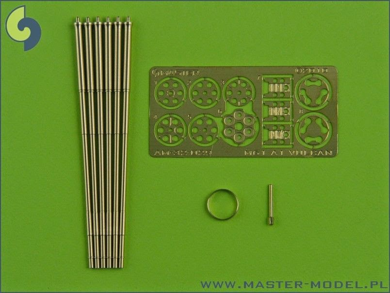 Master 1/32 M61 A1 Vulcan Gun for Phantom , Tomcat ,Starfighter etc...