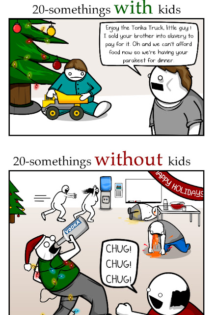 The Oatmeal Christmas