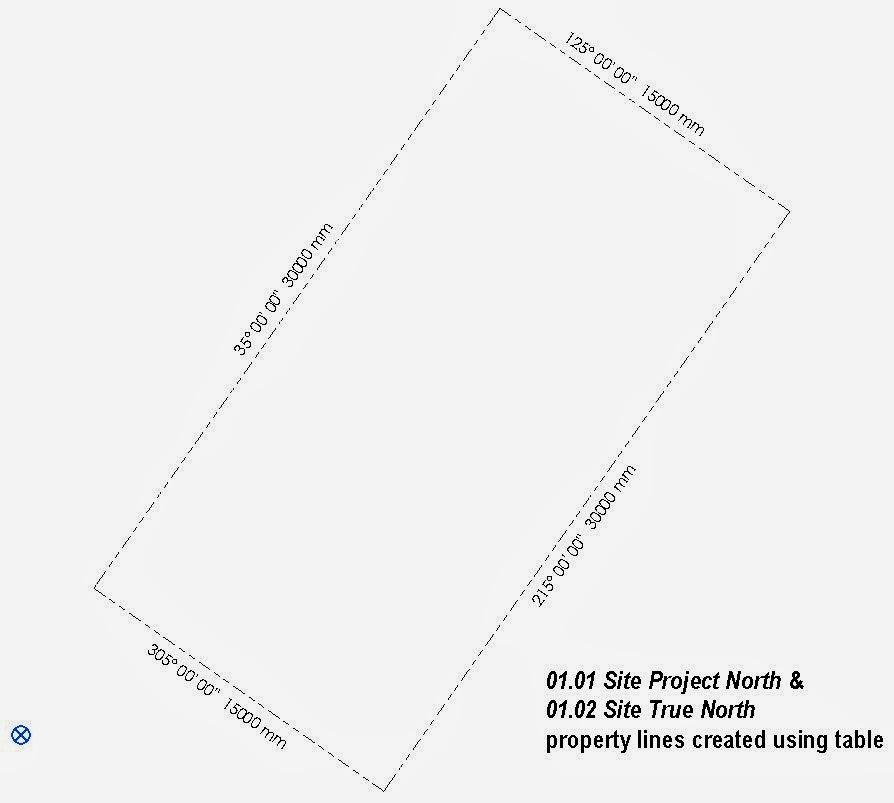 Drawing Property Lines In Revit : Arc revit