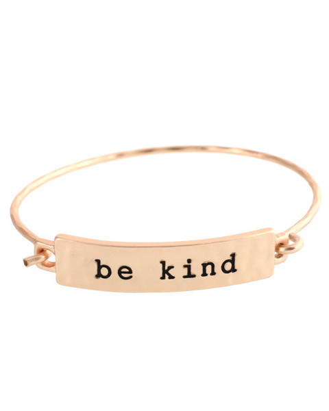 Be Kind Bracelet from Cents of Style