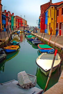 Colorful Pictures Burano Italy