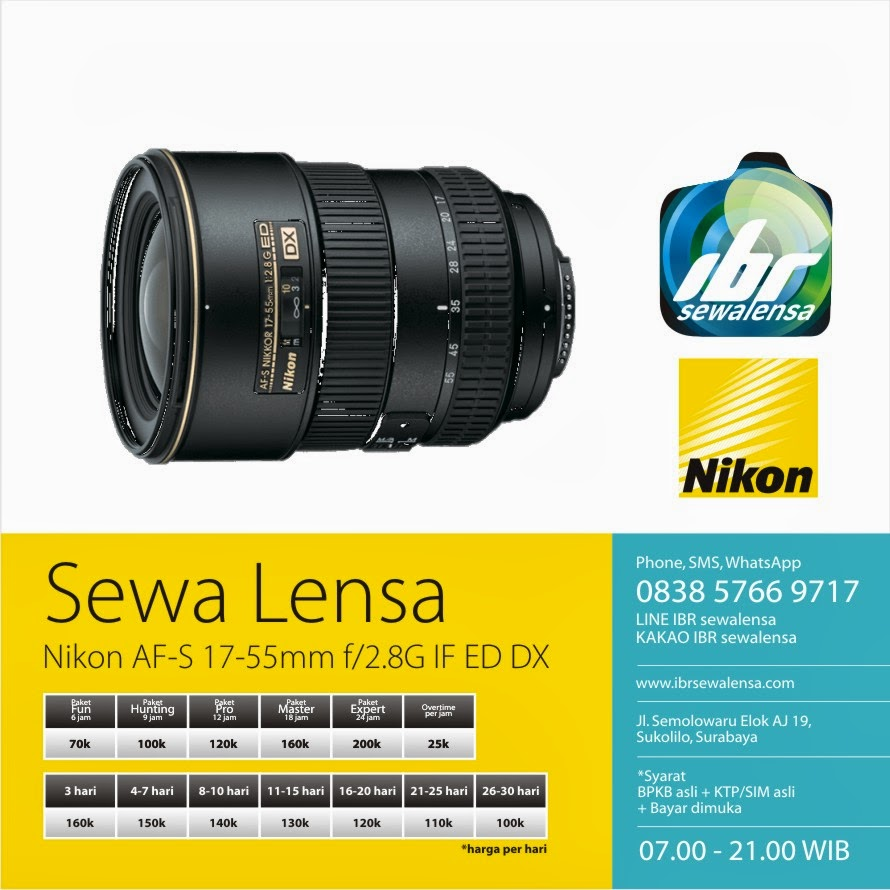 Nikon AF-S 17-55mm f/2.8G IF ED DX