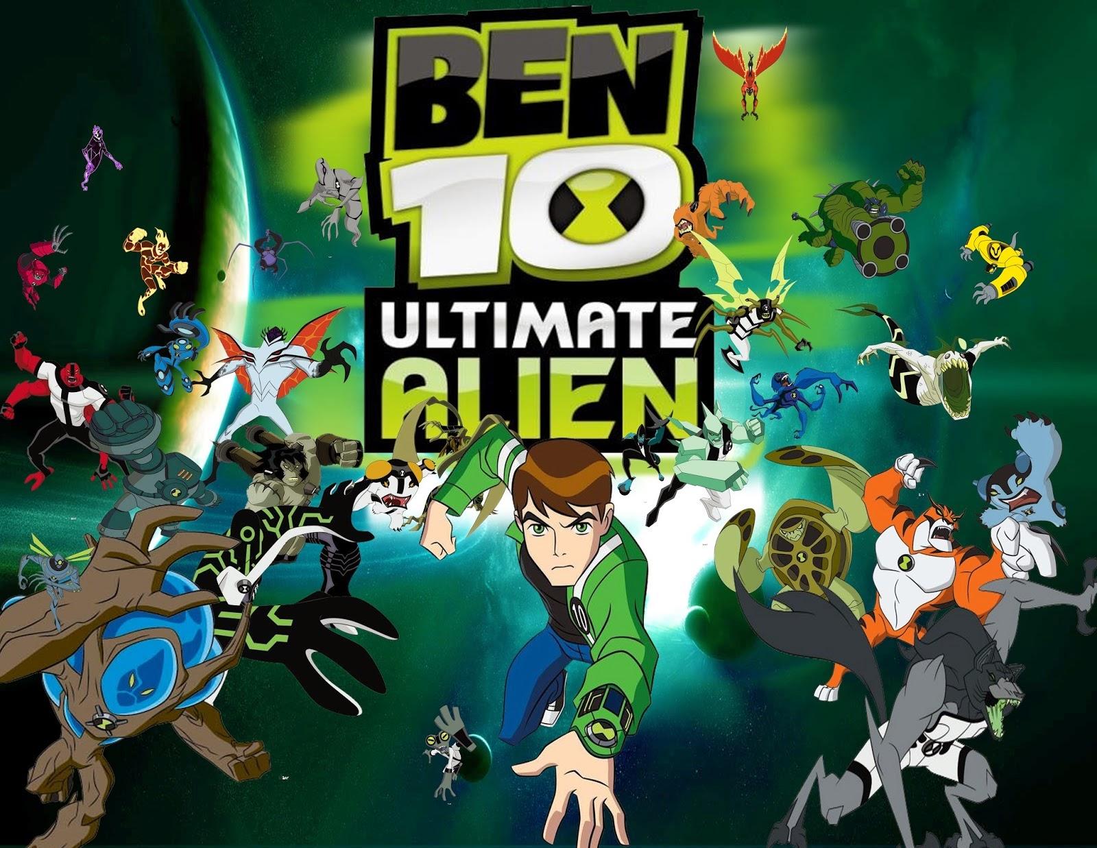 Play Ben 10 Ultimate Alien Cosmic Destruction Games Online