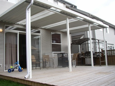 Deck Cover / Patio Cover With Skylights
