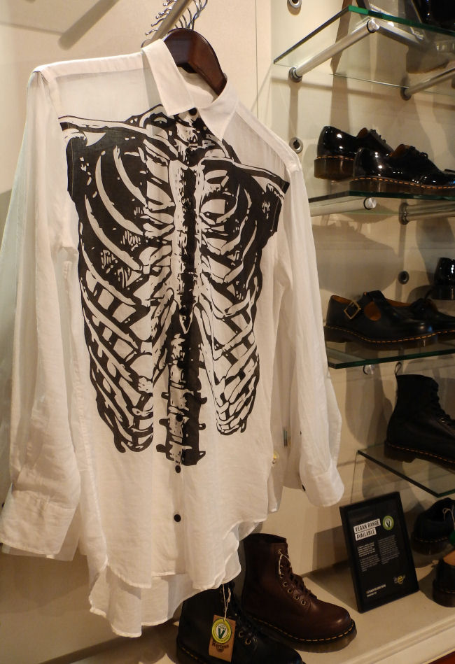 Dr Martens Liverpool store Liverpool One Dr Martens rib shirt clothes uk style and fashion blogger