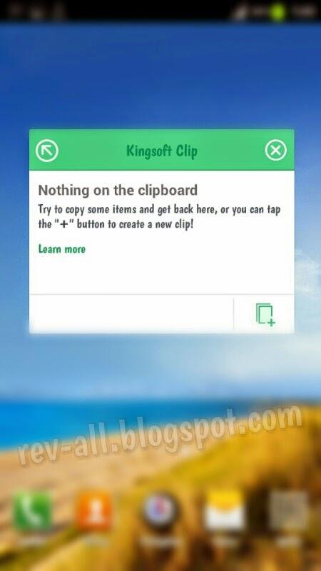 Jendela floating Kingsoft Clip - Clipboard berfasilitas cloud dan ringan untuk perangkat android (rev-all.blogspot.com)