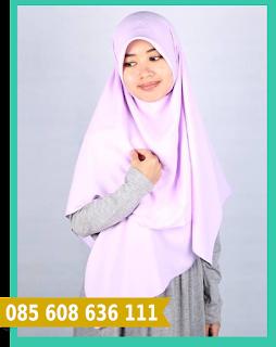 hijab segi empat untuk kebaya