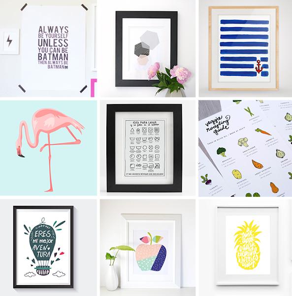 Imprimibles gratis ideales para cualquier rinc n de tu - Casa seleccion decoracion ...