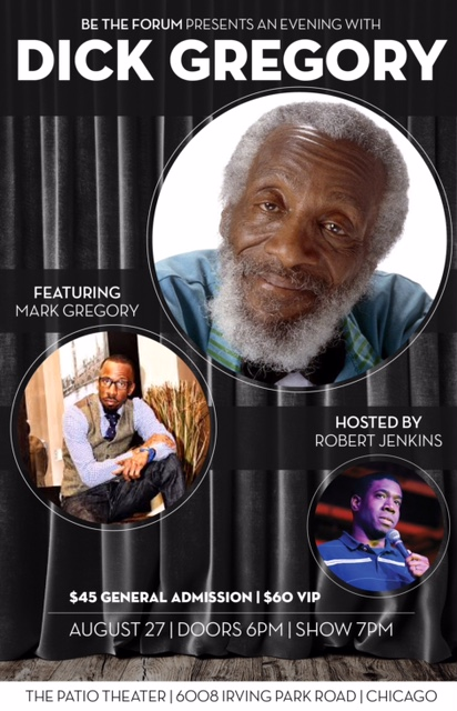 The Legendary DICK GREGORY